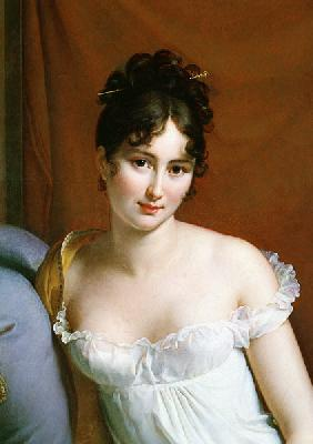 Portrait of Madame Recamier (1777-1849) (detail of 2292)
