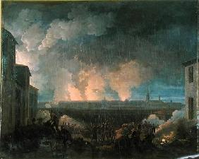 The Bombardment of Vienna by the French Army