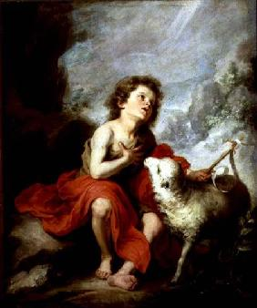 St. John the Baptist as a Child