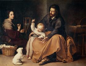 The Holy Family with the Little Bird