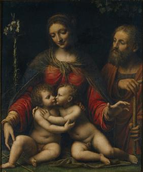The Holy Family with John the Baptist