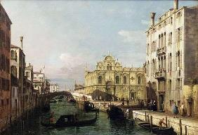 Rio dei Mendicanti and the Scuola di San Marco, c. 1740 (oil on canvas)