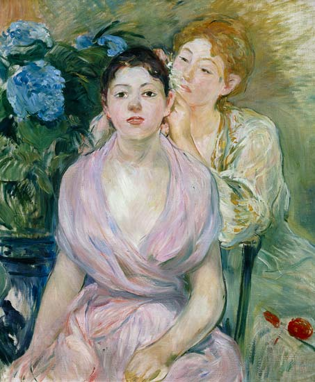 Reproduction imprimée de  The Hortensia, or The Two Sisters