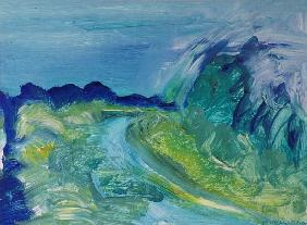 Blue River Landscape I