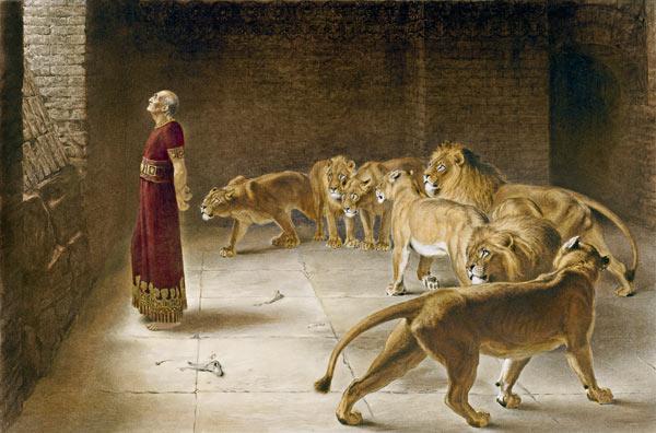 ÉTUDE DU LIVRE DU PROPHÈTE DANIEL 6: 15-23 daniel-1