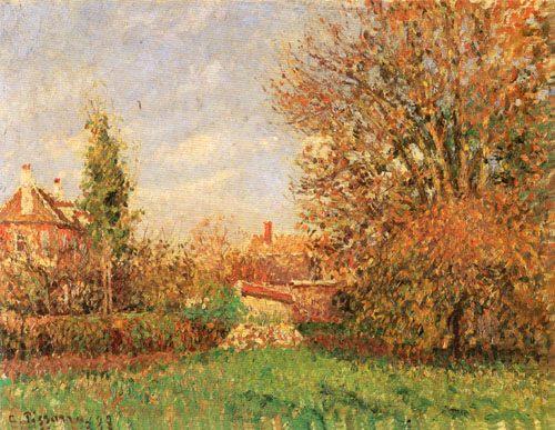 Autumn in eragny camille pissarro for Camille pissarro oeuvre