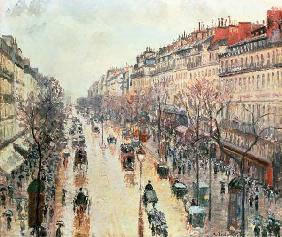 The Boulevard Montmartre