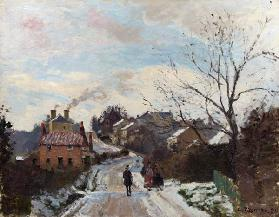 Pissarro / Fox Hill, Upper Norwood /1870