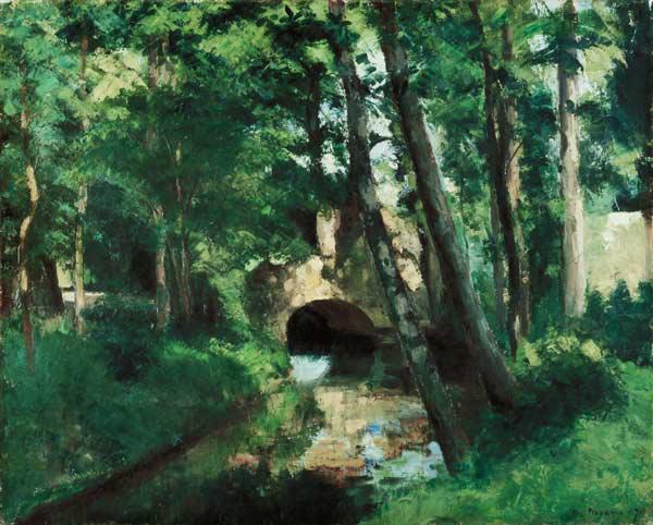 The Little Bridge, Pontoise
