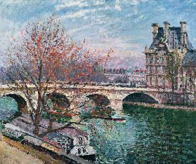 The Pont-Royal and the Pavillon de Flore