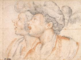Two Youths' Heads