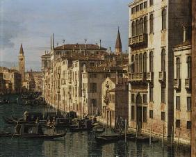 Entrance to the Grand Canal: Looking West