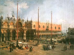 Piazza Saint Marco looking South-East