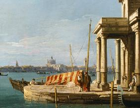 The Quay of the Dogano, Venice