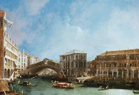 grand Canal : Rialto Bridge the from North the