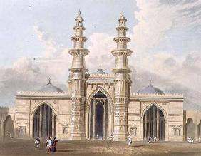The Shaking Minarets of Ahmedabad, from Volume I of 'Scenery, Costumes and Architecture of India', e