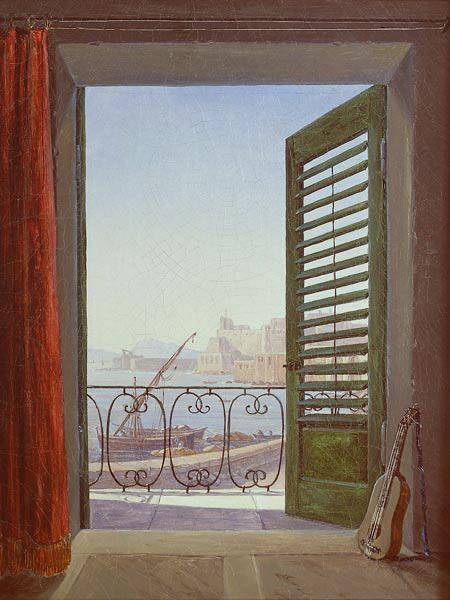Balcony Room with a View of the Bay of Naples