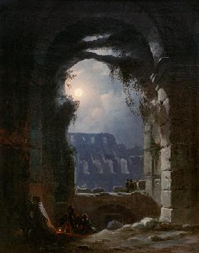 The Colosseum In the Night