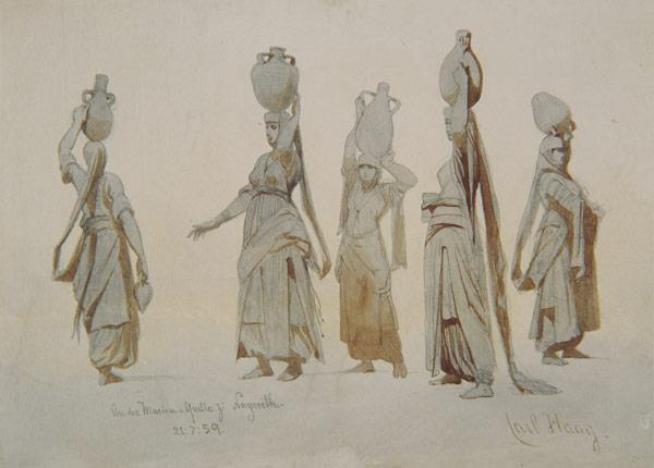Female water carriers, Nazareth