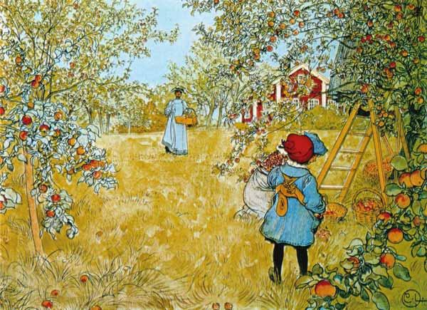 Larsson, Carl : The Apple Harvest