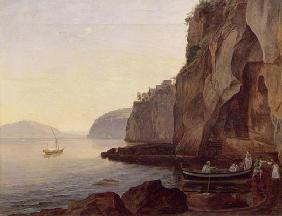 Cocumella near Sorrento, 1827 (oil on canvas)