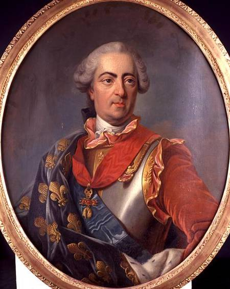 15 Year Boys Bedroom: Portrait Of King Louis XV (1710-74) Of F