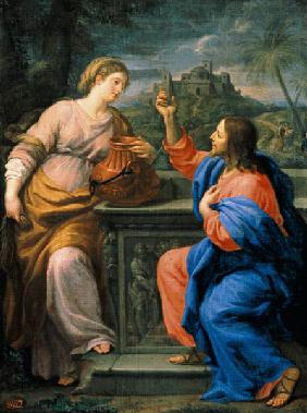 Christ and the Samaritan Woman at Jacob's Well