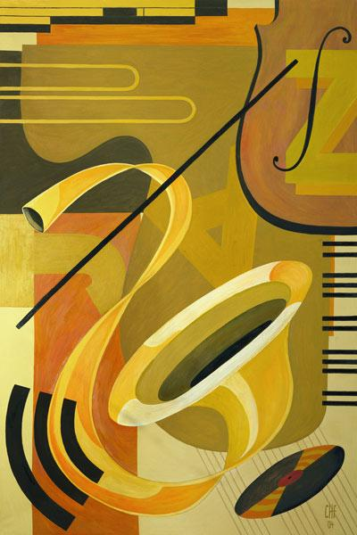 Jazz, 2004 (oil on canvas)