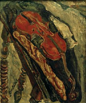 Still life with Violin, Bre