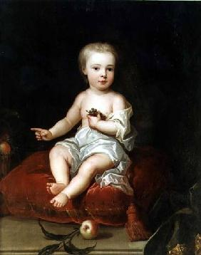 Portrait of Holles St. John (1710-38), youngest son of Henry, 1st Viscount St. John, as a child