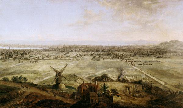 View of Paris from Belleville
