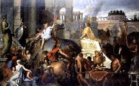 The Triumph of Alexander, or the Entrance of Alexander into Babylon