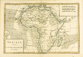 Africa, from 'Atlas de Toutes les Parties Connues du Globe Terrestre' by Guillaume Raynal (1713-96)