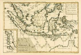 Indonesia and the Philippines, from 'Atlas de Toutes les Parties Connues du Globe Terrestre' by Guil