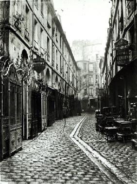 Passage du Dragon, Paris, 1858-78 (b/w photo)