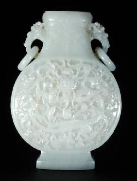 Imperial moon flask, Qianlong