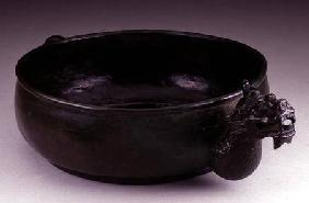 Pouring vessel with a dragon's head spout and a dragon's tail handle, Sung to early Ming dynasty