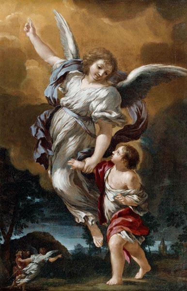 The Guardian Angel (after Pietro da Cortona)