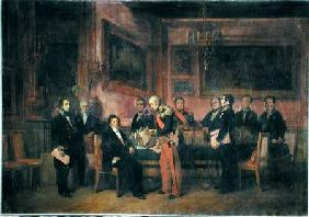 Council of Ministers at the Tuileries Signing the Law of Regency, 15th August 1842