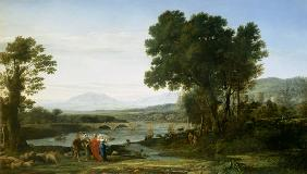 Landscape with Jacob and Laban and Laban's Daughters