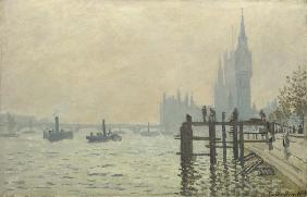 The Thames below Westminster