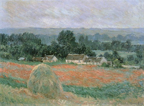 Le Champ de Coquelicots - Claude Monet
