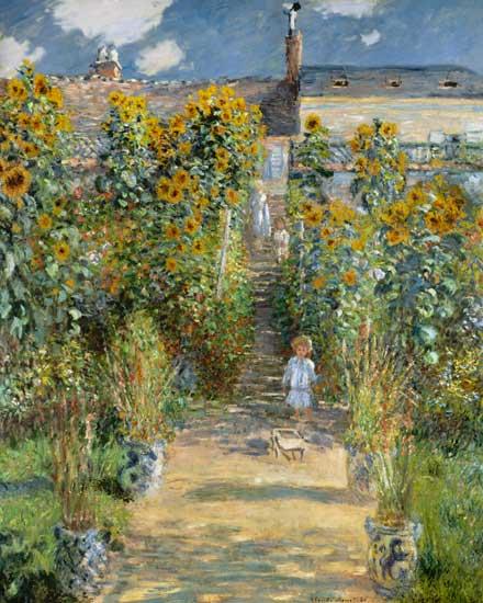 Jardin de l 39 artiste v theuil claude monet for Artistes de jardin