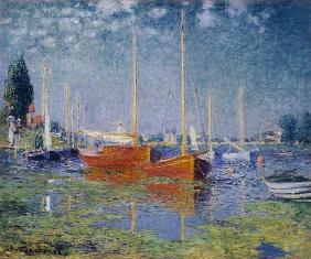Impression Soleil Levant Huile Sur Toile De Claude Monet En