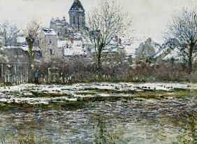 The Church at Vetheuil under Snow