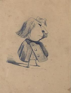 Alexandre Ursule Cellerier, called Felix, 1855-60 (pencil on paper)