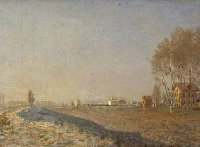 The Plain of Colombes, White Frost