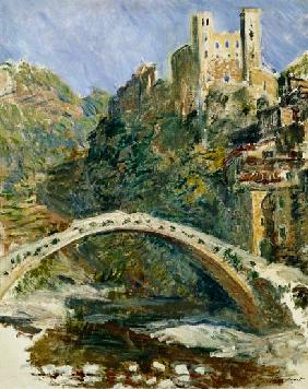 The Castle of Dolceacqua 1884