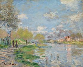 Spring on the Seine