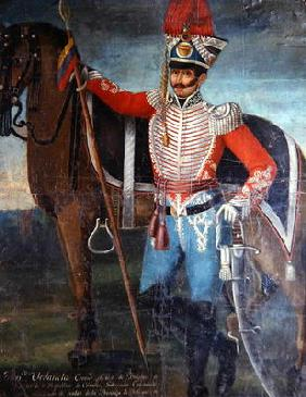 Francisco Urdaneta, Colonel of Dragoons, 1820 (oil on canvas)